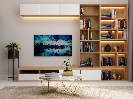 Bàn Sofa hình bát giác khung inox