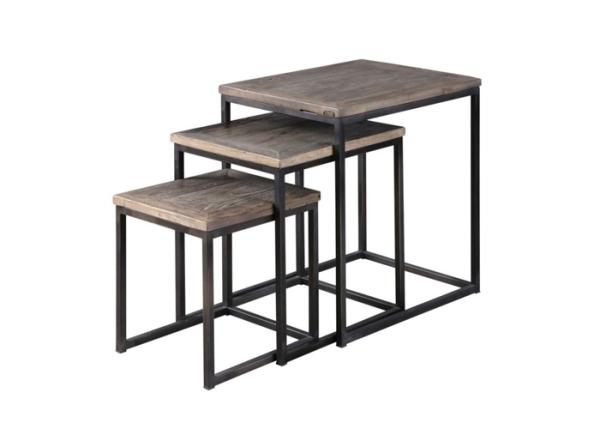 Bộ bàn nesting khung sắt sơn tĩnh điện cao cấp