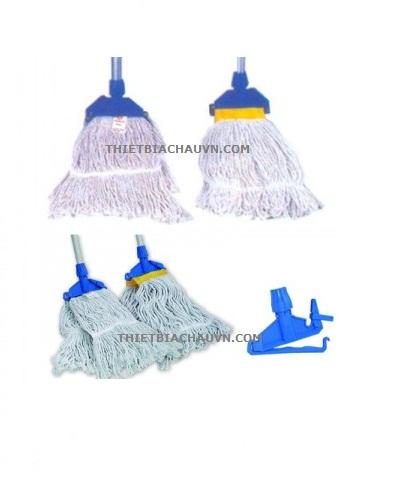 Giẻ lau thay thế cây lau sàn ướt công nghiệp sợi cotton