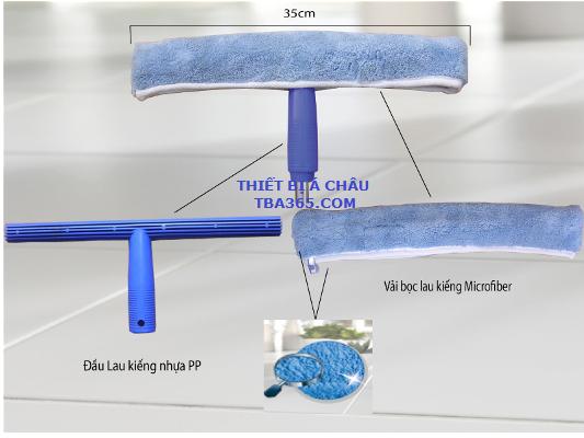 Đầu lau kính bông tai thỏ sợi Microfiber