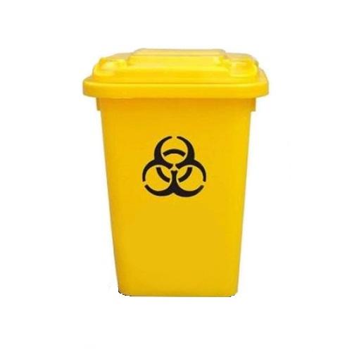 Thùng rác y tế nhựa HDPE 60 lít