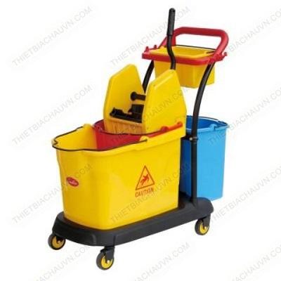 Xe đẩy vắt nước cây lau sàn nhà 50 lít