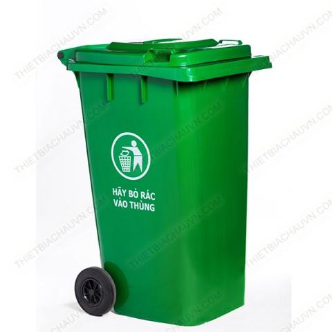 Thùng rác công nghiệp nhựa HDPE 240 lít