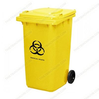 Thùng rác y tế nhựa HDPE 120 lít