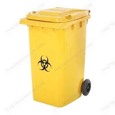 Thùng rác y tế nhựa HDPE 240 lít