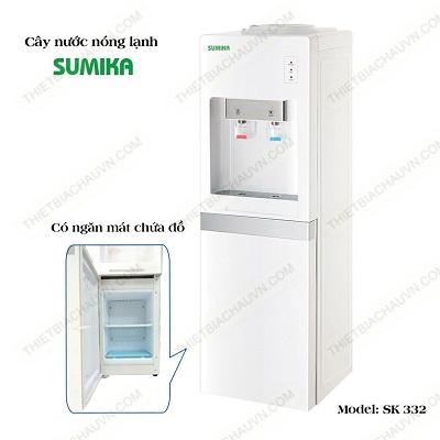 Cây nước nóng lạnh có ngăn mát Sumika SK332