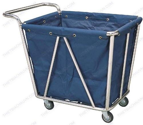 Xe thu gom đồ giặt ủi cao cấp