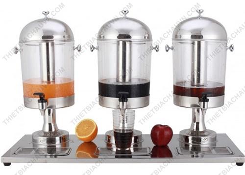 Bộ bình đựng nước ép trái cây ba ngăn