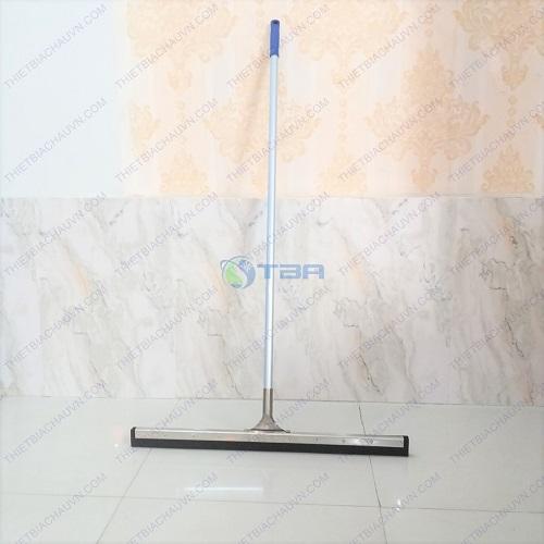 Cây gạt sàn inox lưỡi cao su mềm bản 75 cm