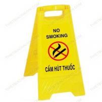 Biển cảnh báo cấm hút thuốc chữ A