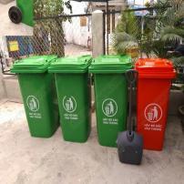 Thùng rác công cộng nhựa HDPE chất lượng cao
